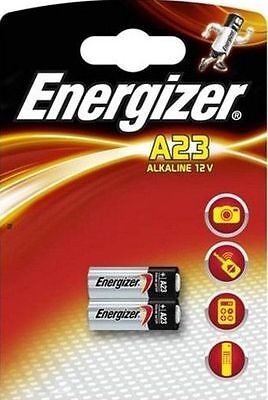 2 Energizer LRV08 MN21 23A L1028 A23 23AE 12v wireless door bell chime Battery