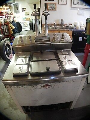 Antique Liquid Carbonic Soda Fountain dipping station 1950s Diner   ice cream