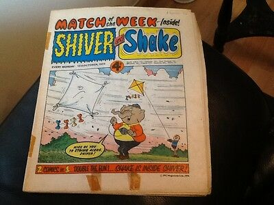 SHIVER AND SHAKE  Paper comic 1973 ISSUE NUMBER 30 Still in great conditions