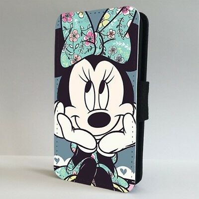 promo code 298d3 ca845 MINNIE MOUSE FLORAL Disney FLIP PHONE CASE COVER for IPHONE SAMSUNG