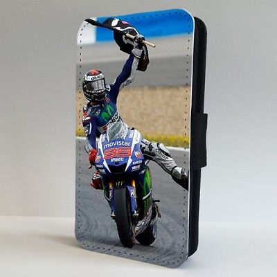 Moto GP Jorge Lorenzo FLIP PHONE CASE COVER for IPHONE SAMSUNG