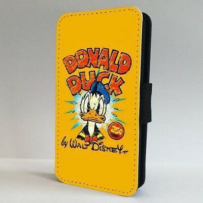 Vintage Donald Duck Disney FLIP PHONE CASE COVER for IPHONE SAMSUNG