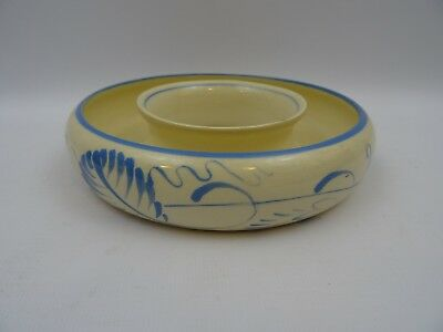 Ceramic Posy Bowl Gray's Pottery Stoke on Trent Pre 1921 Marked England