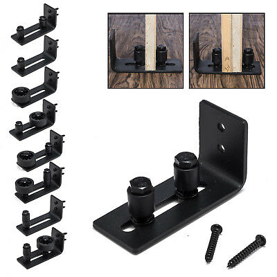 Barn Door Floor Guide Stay Roller Adjustable Wall Mount Guide 8 Different Setups
