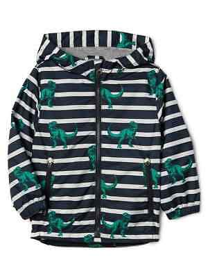 NWT GAP Dinosaur Active Jacket Windbuster Windbreaker Water Resist 18-24 2 3 4 5