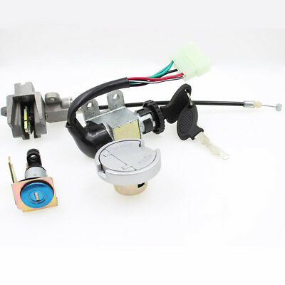 Ignition Switch Fuel Gas Cap Seat Lock For Taotao Eagle ATM50 A/A1 Scooter Moped