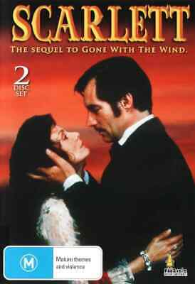 Scarlett (DVD 2-Disc Set) Sequel to Gone with the Wind [All Regions] NEW/SEALED