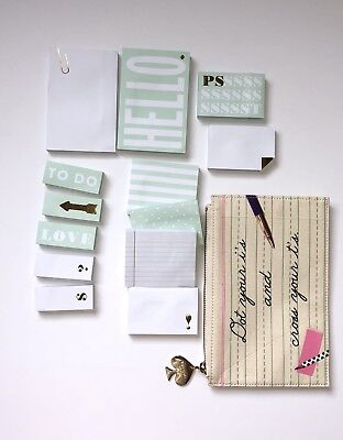 Kate Spade New York Pencil Pouch Multi Sticky Notes