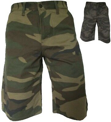 Men's Dickies Camouflage Work Shorts with Cellphone Pocket, Sizes 30-44,