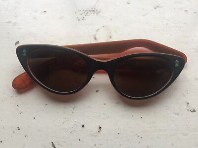 Original Vintage 1950s Classic Film Cat eye Reading Spectacles Sunglasses Frame.