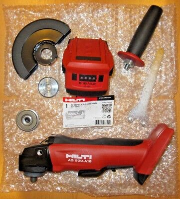 Hilti Ag 500 A-18 Cordless Grinder , Tool Only , New
