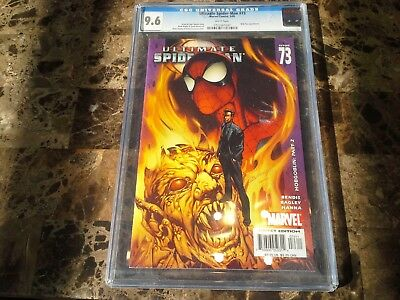 Ultimate Spider-Man 73 CGC 9.6 NM+ White Pages