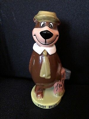 Vintage 1960's Yogi Bear Ceramic Figurine Ideas Inc Hanna Barbera