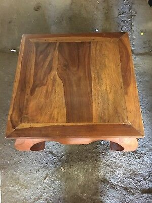 Chinese Style Solid Heavy Wood Coffee Table