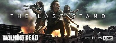 The Walking Dead Season 8 TV Poster 15x40- The Last Stand, Grimes, Michonne v2