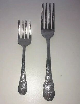Set Of Two Forks HUMPTY DUMPTY by Oneida Community