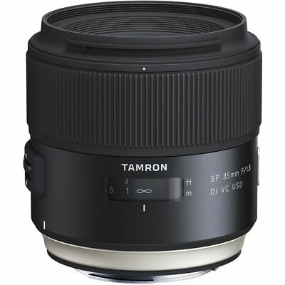 Tamron SP 35mm f/1.8 Di VC USD Lens for Canon EF Black PX