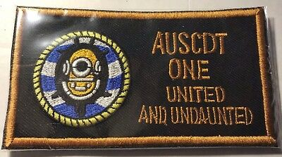 Australian Clearance Diver Team One Navy Special Forces Military EOD  IED Patch
