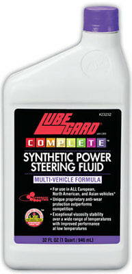 LUBRGARD Complete Synthetic Power Steering Fluid 32 fl. oz.23232 THE BEST STUFF!