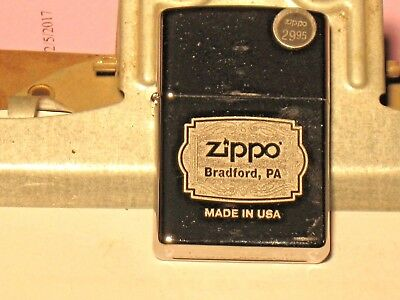 A NEW Windproof Genuine Lighter 29521 Zippo Bradford Pa Made in USA HP Chrome Cs
