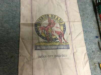 Sioux City Seed Co. Warrior Brand Seed bag