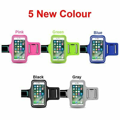 Sport Gym Color Armband Arm Case Running Exercise for Apple iPhone 8 7 X 6S Plus