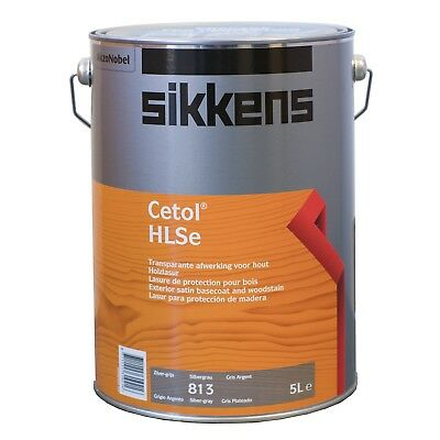 Sikkens CETOL HLSE SILVER GREY TIMBER FINISH 5L High Transparency, UV Protection