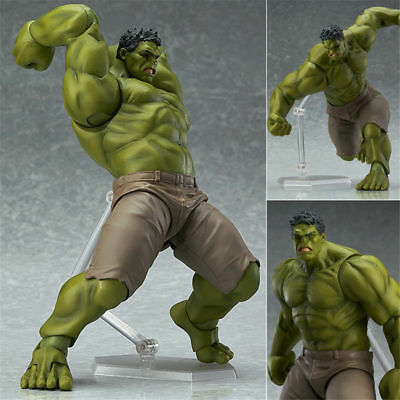 Figma Marvel The Avengers Hulk Action Figure Movable Model Statue Toy New in Box