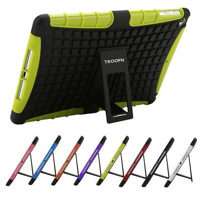 Shockproof Heavy Duty Rugged Stand Case Cover For Apple iPad 6 5 4 3 2 Mini Air