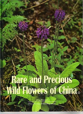 Rare and Precious Wild Flowers of China 1- out of print, limit supply