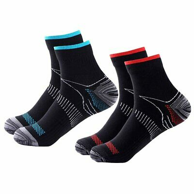 Compression Plantar Fasciitis Foot Fatigue Heel Pain Support Ankle Socks UU