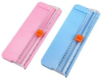Office Mini Precision Rotary Guillotine Ruler Photo Paper Cutter Trimmer Cutter