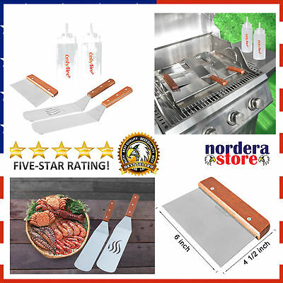 Multi Purpose Grill And Griddle Spatula Set Fits For Blackstone Flat New