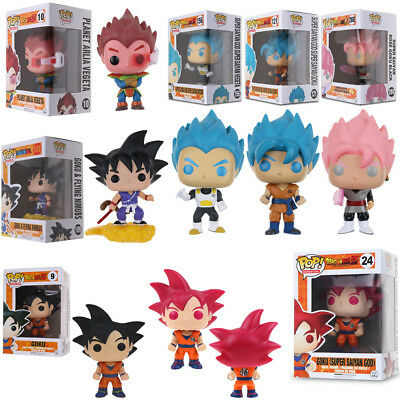 Funko POP!Dragon Ball Z: Super Saiyan God Goku Vegeta PVC Action Toy Gift in Box