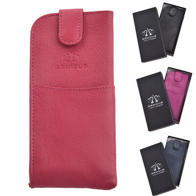 Arnicus High Quality Genuine Real Leather Glasses - Spectacle Case