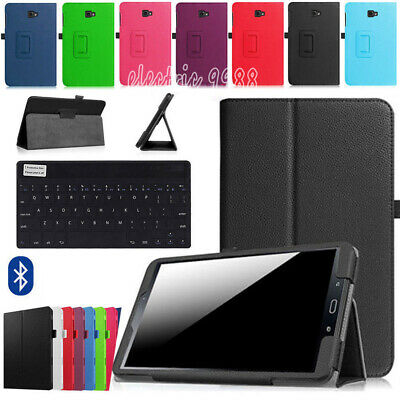 "AU For Samsung Galaxy Tab A 8"" SM-T350 T355 SM-T355Y Leather Case Cover Keyboard"