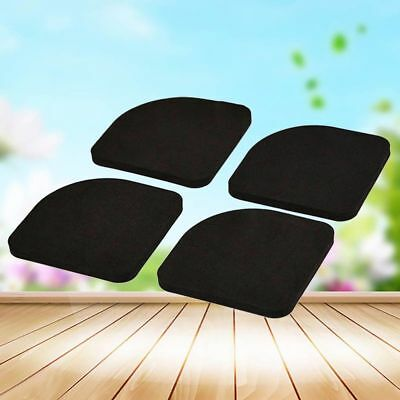 4xSquare Refrigerator Mute Mat Washing Machine Anti Vibration Pad Shock Pads