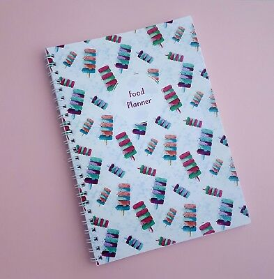 weekly planner food diary sheets slimming world weight watchers