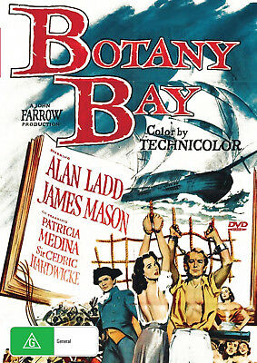 BOTANY BAY   Alan Ladd  James Mason  Historical  - DVD