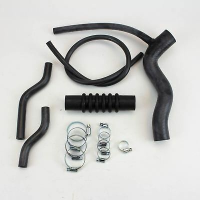 MGB/MGB GT Radiator Cooling Hose Kit with Clamps 1972-1976