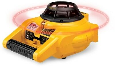 Rotary Laser Level Kit Detector DW074KD DEWALT Self-Leveling Horizontal Vertical