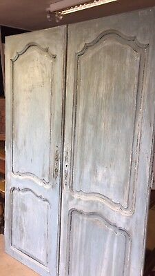 Blue French Doors