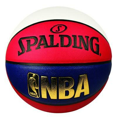 NBA Logoman Size 7 Basketball For Indoor & Outdoor From Spalding