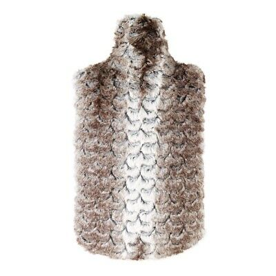 Aroma Home Fawn Faux Fur Essential Oils Scented Microwavable Body Warmer