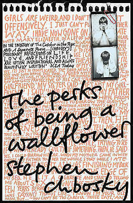 The Perks of Being a Wallflower by Stephen Chbosky (Paperback, 2009) Used Great