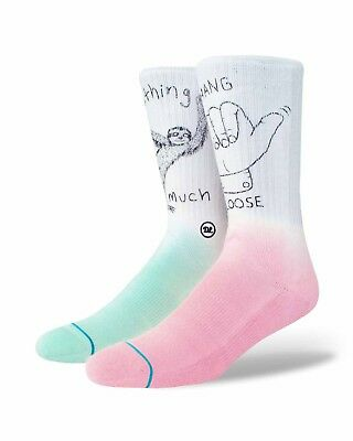 Stance Danlu Socks - White - Mens Socks