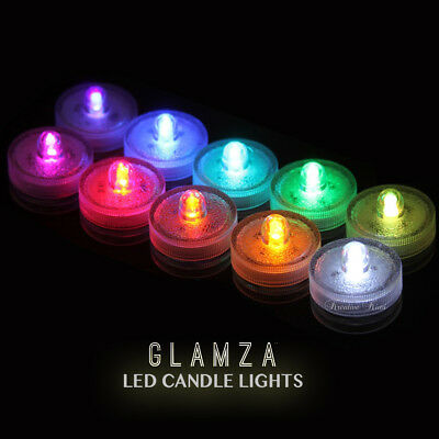 LED Candle Lights Natural Colours Flameless Steady Light Flame Battery Gift Set