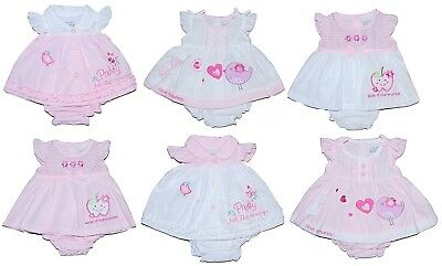 Baby Girl Dress & Pants Outfit Tiny Preemie Premature Reborn Upto 6 Months