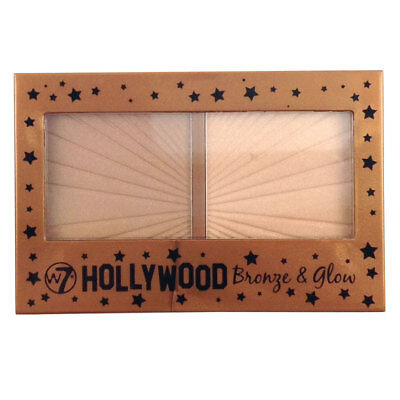 W7 Cosmetics Hollywood Bronze Glow Duo Bronzer Highlighter Highlighting Makeup