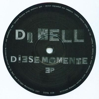 """12"""": Hell - Diese Momente EP - Sativae - TIVA 008"""